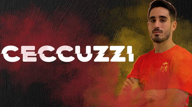 Il centrocampista umbro Edoardo Ceccuzzi