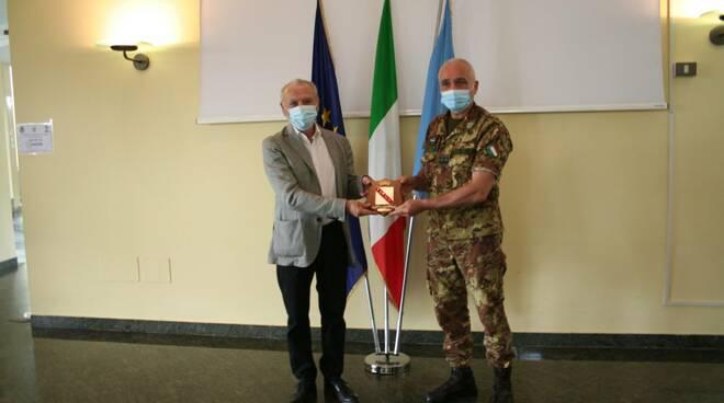 Il generale Castellano in visita alla Base Logistico-Addestrativa di Milano Marittima