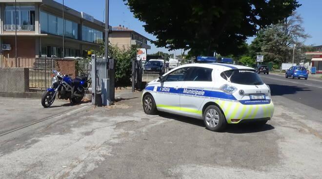 incidente auto-modo via emilia ponente Faenza
