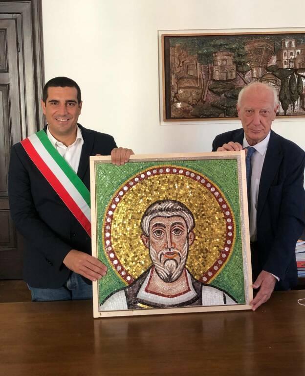 mosaico per il presidente della repubblica