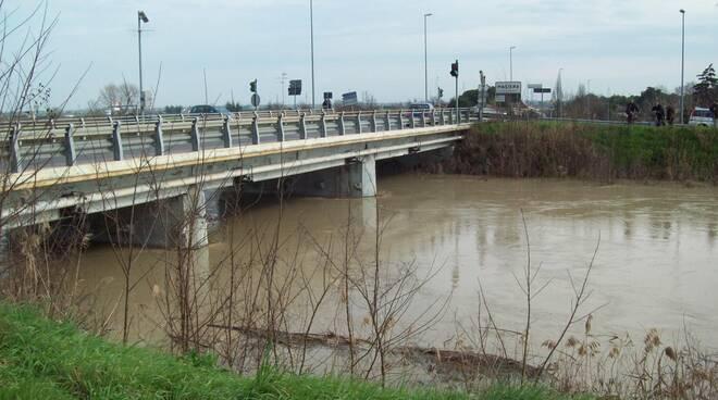 Piena fiume Senio
