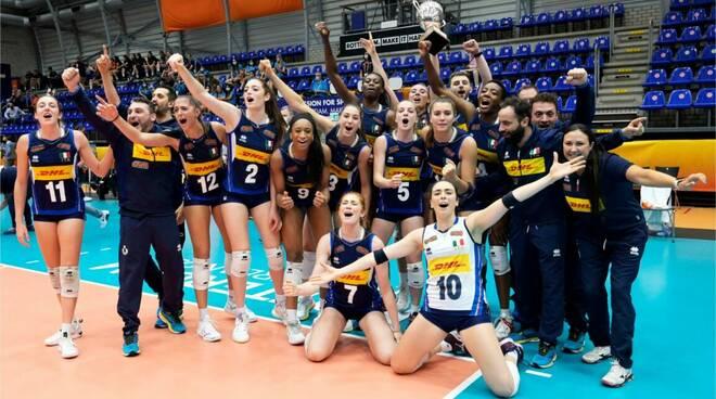 vittoria mondiali volley u 20 femminile