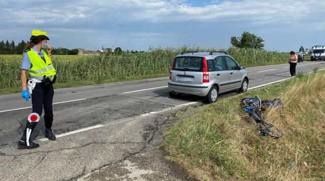 incidente dismano bici 1-08-21
