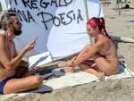 bodypainting poetry lido di dante paolo gambi