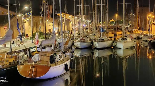 Cervia Raduno del passatore e Levata all'alba 2021 - vela - porto canale cervia