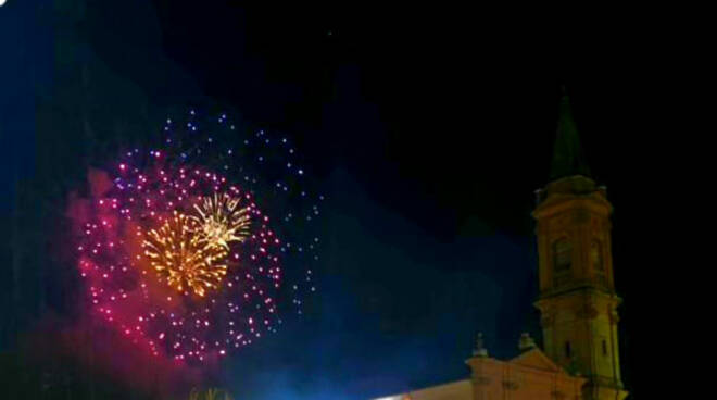 fuochi d'artificio fira di sett dulur russi 2021