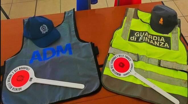 gdf ravenna e ADM - guardia di finanza - dogane