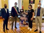 l'atleta cesenate Roberta Pedrelli incontra l'Amministrazione comunale