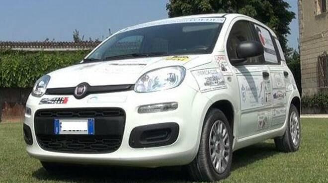 L'auto che sarà consegnata ad Ail al termine della campagna di raccolta fondi