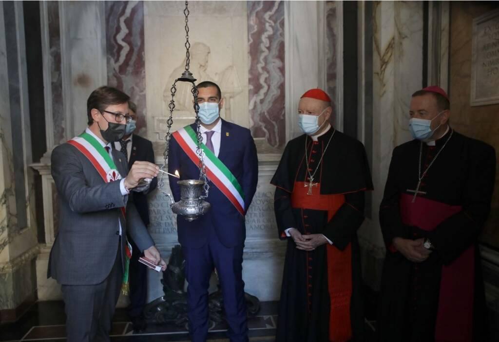 Ravenna, Dante 700: le celebrazioni della mattinata