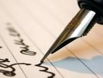 scrivere - lettera - poesia - pensiero - firma