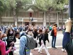 studenti fuori dalla Don Minzoni di Ravenna