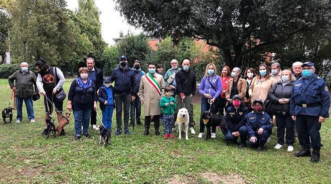 """A Lugo inaugura il """"Parco Melampo"""", una nuova area per lo sgambamento dei cani"""