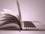biblioteca digitale, studio, computer, lezioni