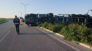 camion incidente
