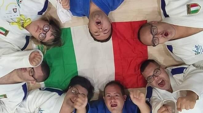 Euro Trigames - Gli atleti ravennati Danilo Brunetto e Mirko Brighi sono campioni europei di judo per disabili.