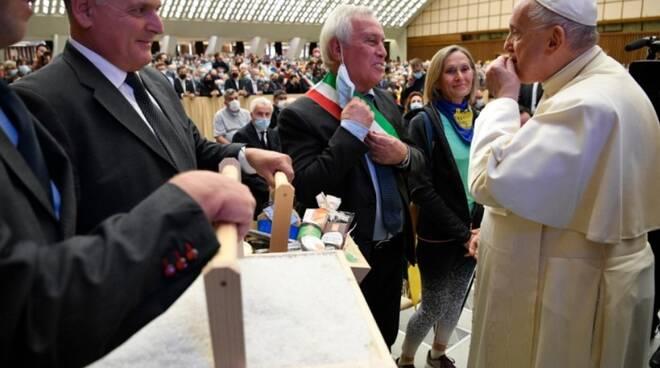 Il sale di Cervia a Papa Francesco