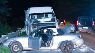 incidente auto furgone Faenza