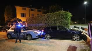 inseguimento polizia ravenna 17/10/2021