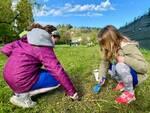 piantumazioni alberi parco cesuola bambini