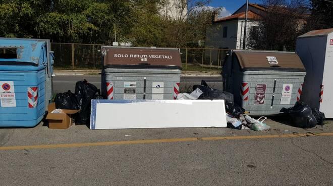 rifiuti area San Zaccaria