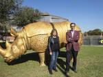 rinocerontessa Fellini museum alla festa del cinema di roma