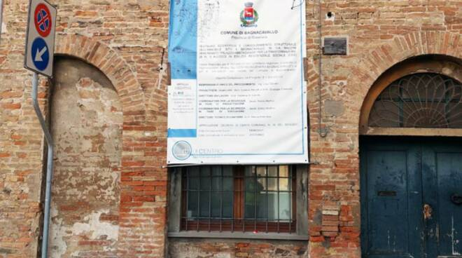 Riqualificazione palazzo abbondanza Bagnacavallo