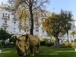 Torna a Rimini, nel Parco del Grand Hotel, la scultura simbolo del nuovo Fellini Museum